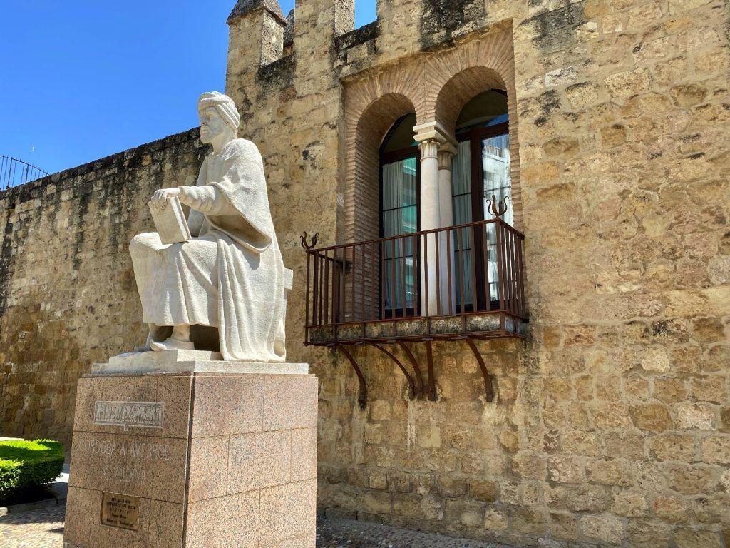 Averroes visita el barrio de la juderia